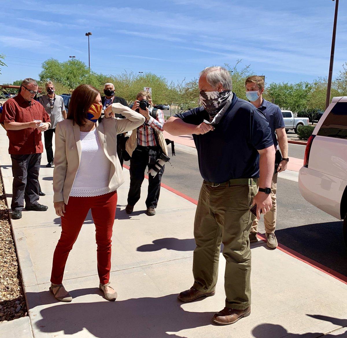 Welcome to Arizona, @SecBernhardt!