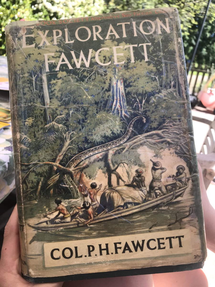 After an exciting #English lesson on the #explorer, Colonel Fawcett, Anna E (Year 6) received this vintage book from her grandparents, which they bought back in 1954! #connections #literature https://t.co/es4GcGSwd9