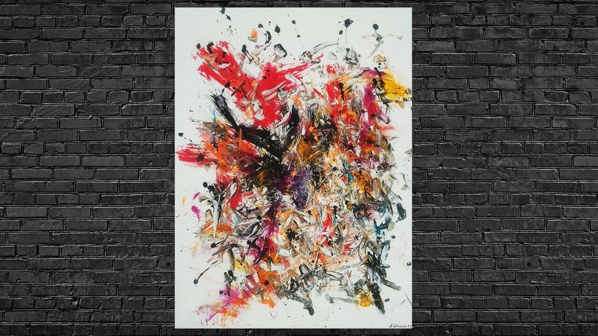 Colorful #abstract paintings draw you in with their shapeless bursts of color. Now you can easily get the works that you admire through our online #art galleries! Check them out: https://www.artdex.com/ #artgallerypic.twitter.com/bEbPcZf3yp