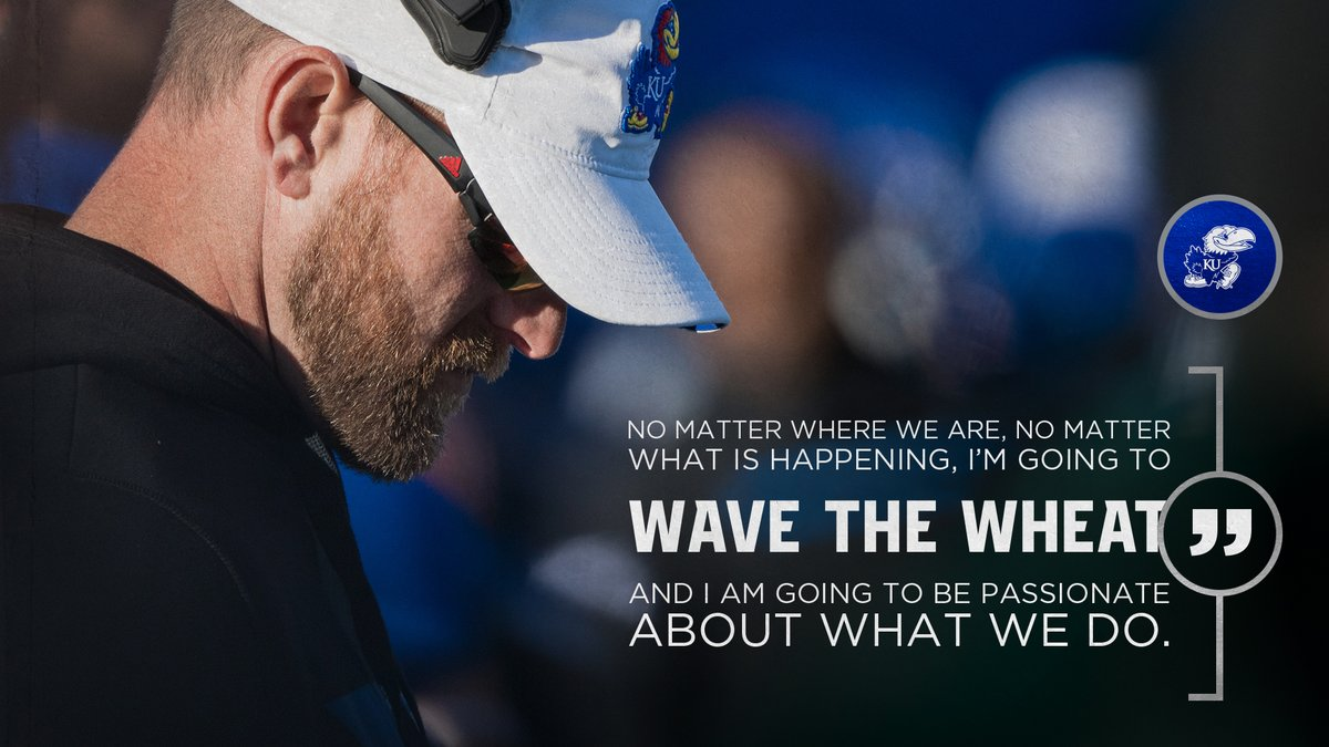 No matter where we are, no matter what is happening, Im going to wave the wheat and I am going to be passionate about what we do. #GetTheWheatReady 🌾🌾🌾 🎙️ @BrentDearmon x @thejayhawkerpod 𝗟𝗶𝘀𝘁𝗲𝗻⬎ Apple: apple.co/2LSXA4t Spotify: spoti.fi/3d3RE4Z