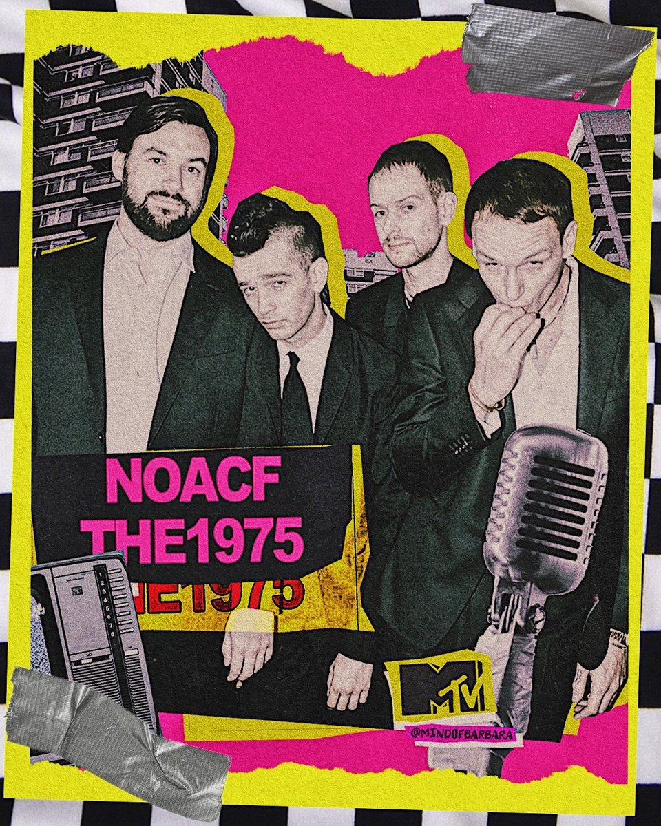 .@the1975's #NOACF IS HERE! What's your favorite song off the album? 🤔  🎨: @mindofbarbara #MTVxMindOfBarbara