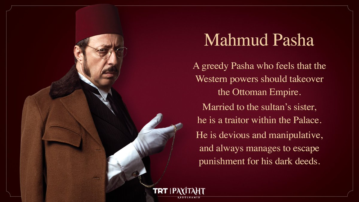 Have you met Mahmud Pasha yet? Watch #Payitaht Abdulhamid with English Subtitles on TRT Drama #Sultan_Abdulhamid #TurkishSeries #TurkishDrama pic.twitter.com/MfukBQeu6Y