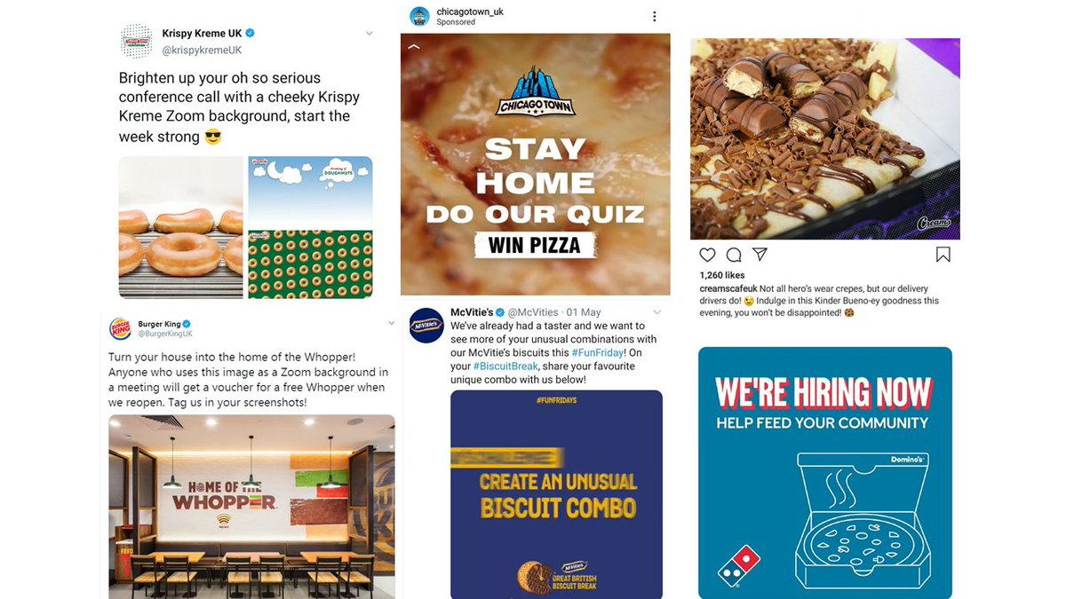 If you dont like whats being said, change the conversation. Many food companies are following Don Drapers advice to change the conversation to keep the spotlight on junk food during the pandemic. 🍨🍫🍕 Read our blog here: bit.ly/2W97JQQ