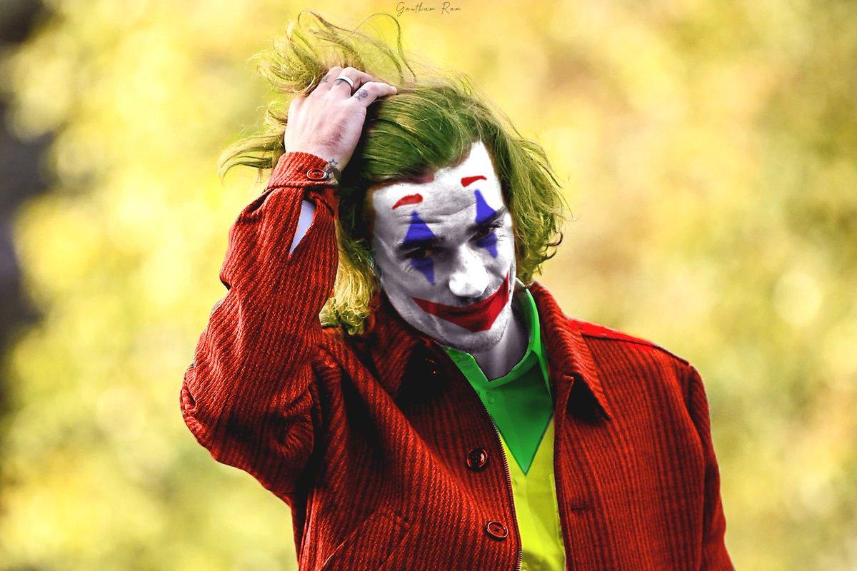 Griezmann × Joker.  Support appreciated.  #joker #griezmann pic.twitter.com/APVIxx3R96