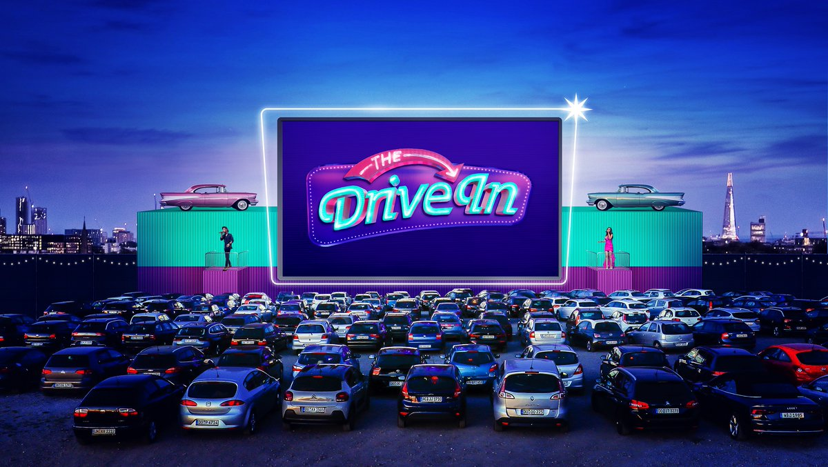 #tmAnnounced @TheDriveInLDN will open this July with screenings of Dirty Dancing, La La Land, The Adventures Of Priscilla Queen Of The Desert and more.  Tickets are on sale here >>  Discover more here >>