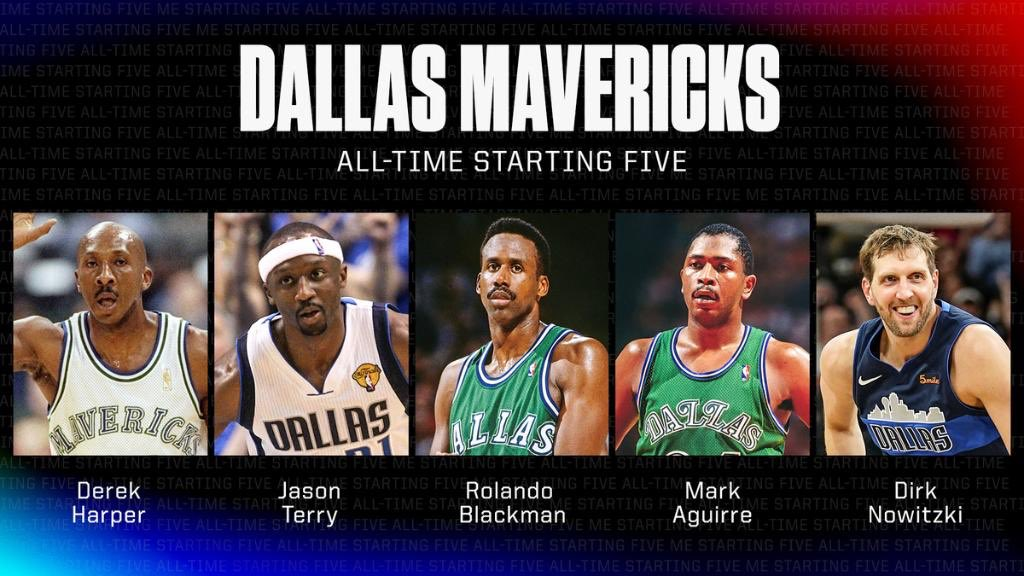 ESPN announced #Mavs all-time starting five. What's your thoughts?