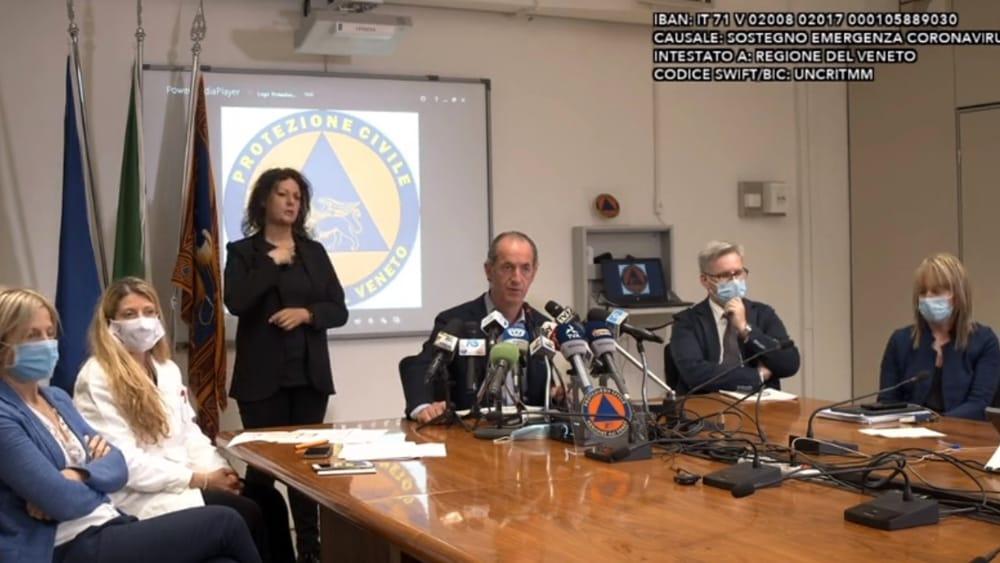 Contagi zero in Veneto: il chiarimento della Regio...