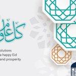 Image for the Tweet beginning: نهنئكم بمناسبة حلول عيد الفطر
