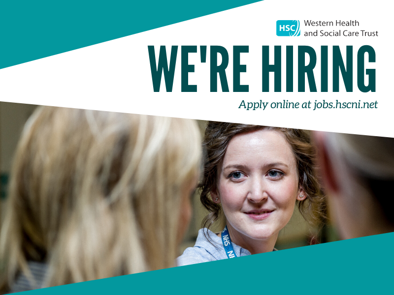 We are recruiting for the posts below. For further details and to apply please visit: jobs.hscni.net⁣ ⁣ ⁣ ⁣ We are an equal opportunities employer⁣ ⁣ #GreatPlaceToWork
