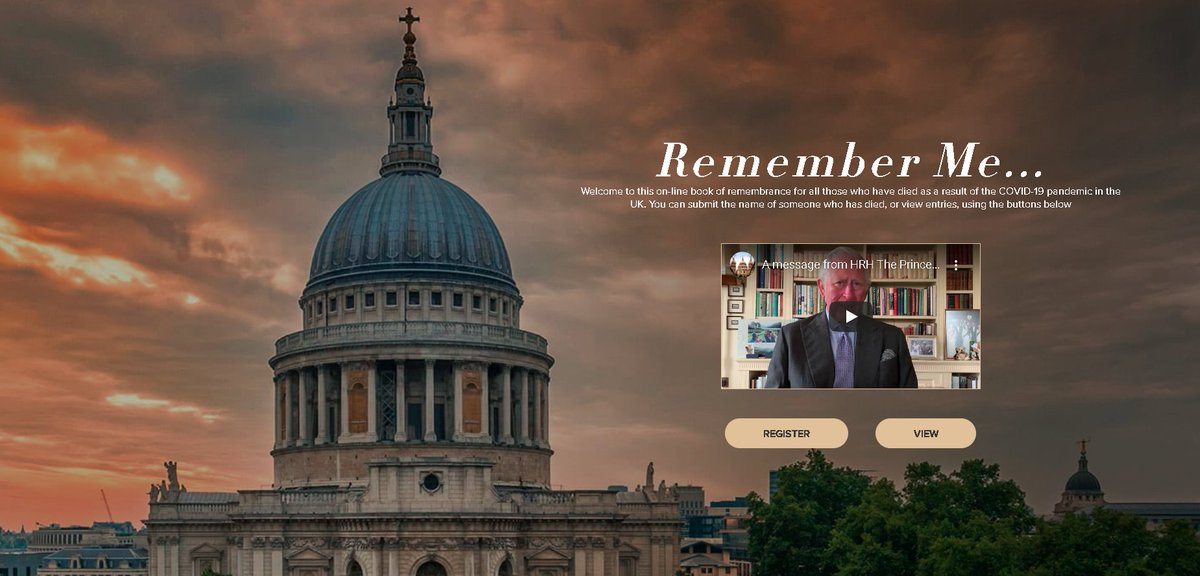 This fantastic initiative by St Pauls is now live and open to everyone of all faiths and none: rememberme2020.uk @IFNetUK @Win_Interfaith @emeraldnetwork @faithbelieforum @HEAR_Network @BoardofDeputies @FaithsUnitedYN