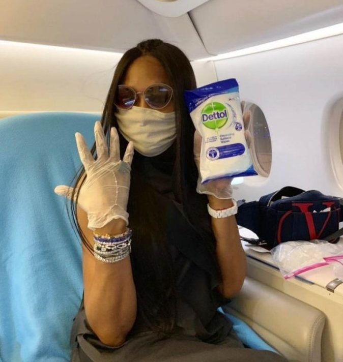Happy Birthday to our Queen of Quarantine who serves looks both on and off the runway! Love you, Naomi Campbell!