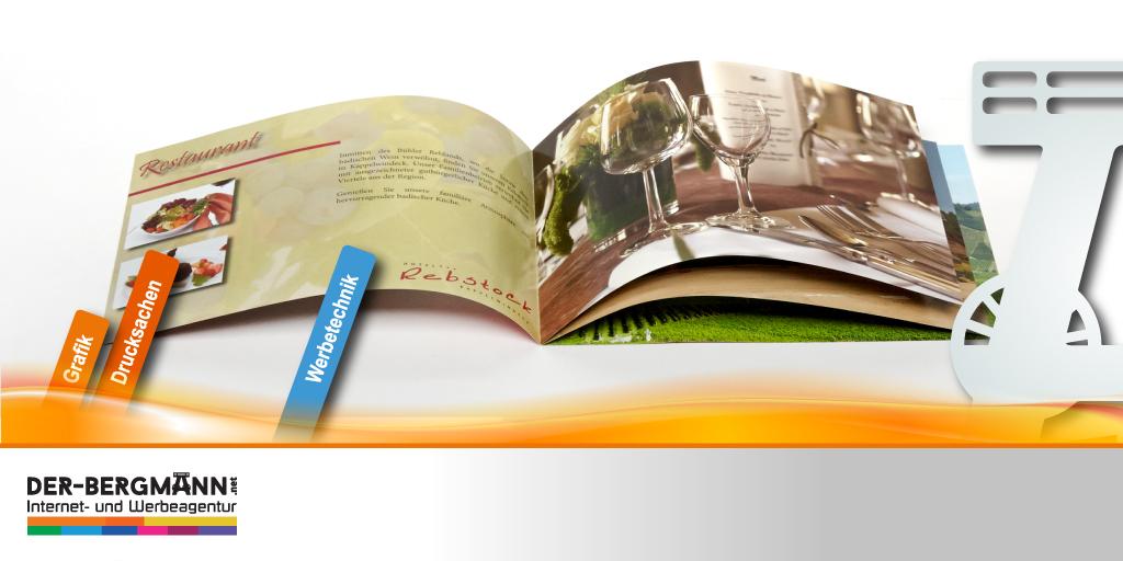 """Eine Unternehmensbroschüre ist nicht nur ein """"Werbezettel"""", sondern ein liebevoll gestaltetes Firmenportrait, das die Werte und Leistungen Eures Betriebes ansprechend widerspiegelt. Interesse? Dann meldet Euch! #broschüre #druck #werbeagentur #grafik #welovetoadvertiseyou #bühl"""