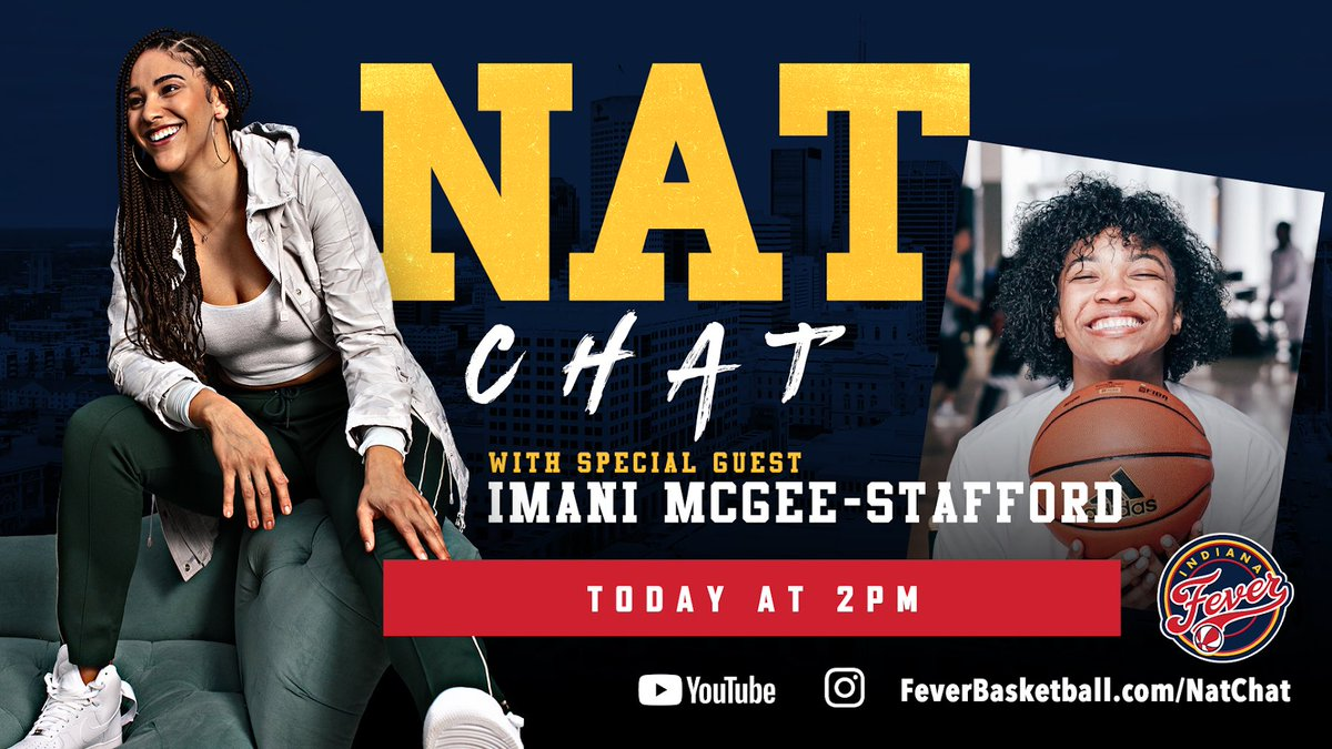 IT'S FINALLY FRIDAAAYYY!! 🙌🏽 at 2pm we're dropping another episode of #NatChat 💃🏽😎 https://t.co/436VPuWV91