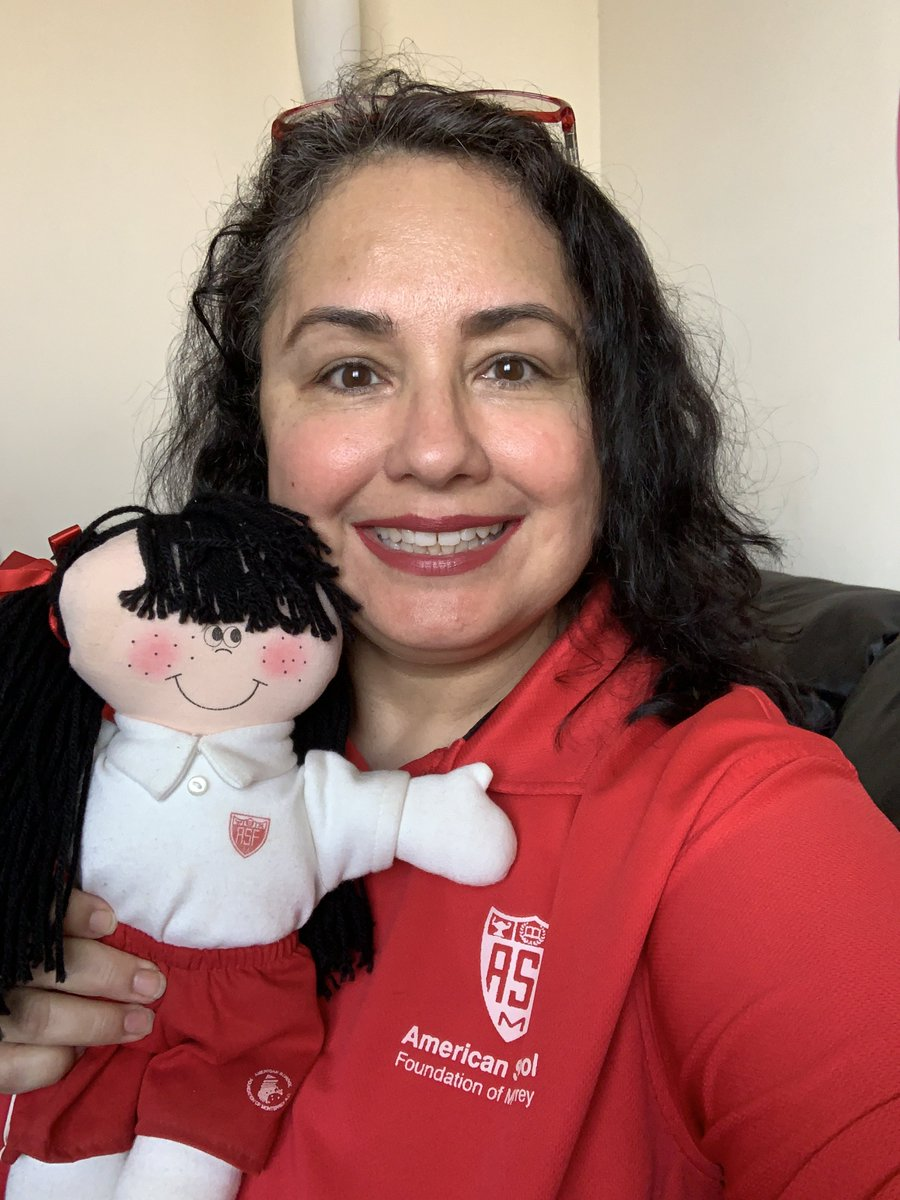 Showing the red and white spirit together with my vintage ASFM doll. @ASFM_official #ASFMspirit #ASFMlearns #distancelearningASFM @ASFMELEMpic.twitter.com/3GCL6O8w1s