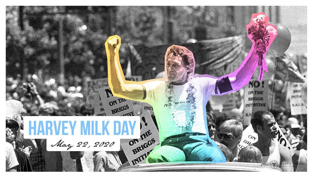 @SpeakerPelosi's photo on #HarveyMilkDay