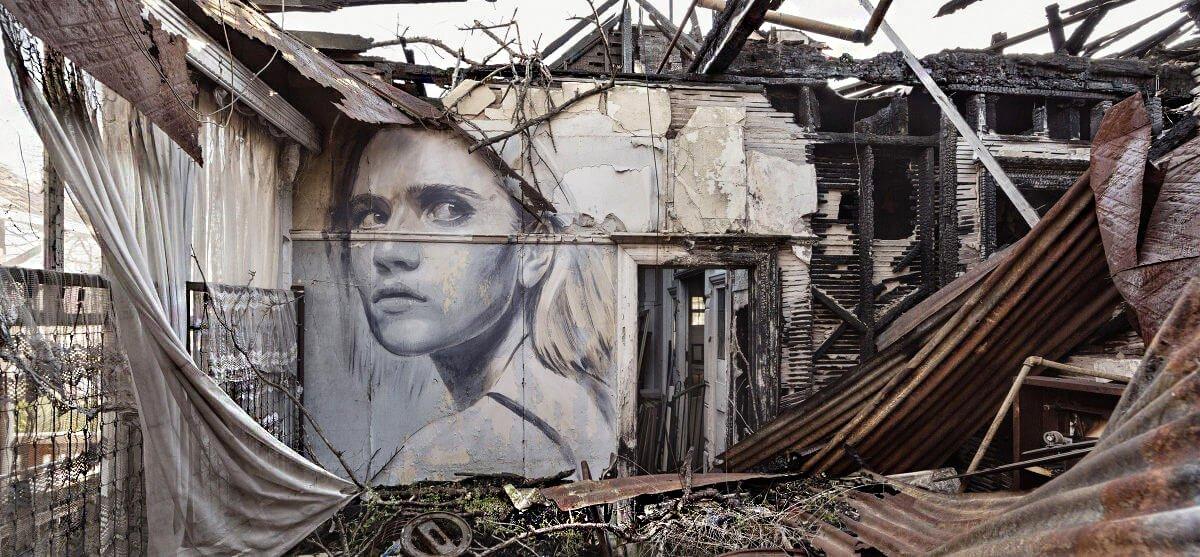 #streetart #mural #urbanart By Rone in Melbourne, Australia.pic.twitter.com/fH7MEmZ344