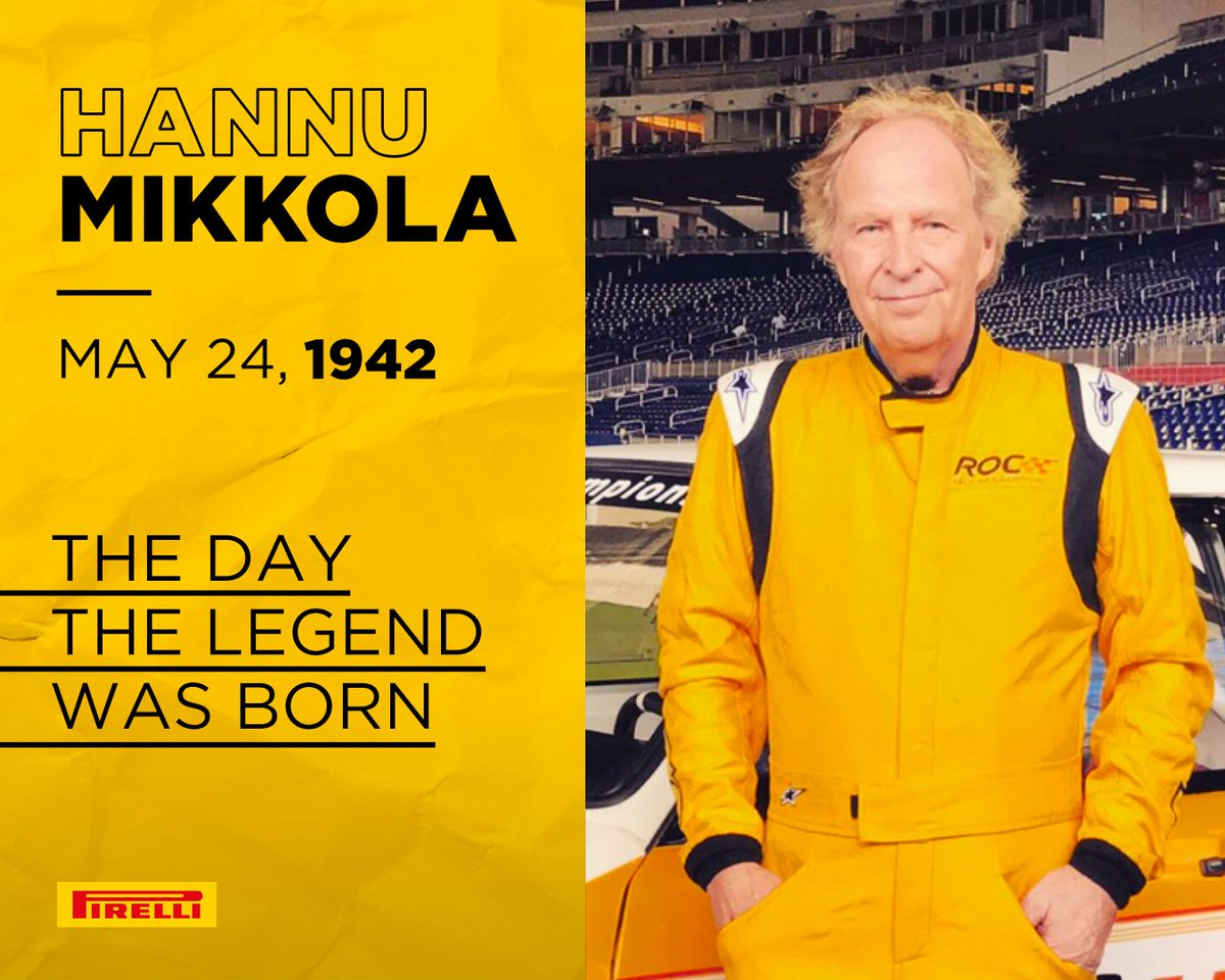 Happy birthday, Champ. #HannuMikkola, a Finnish driver, he made history by winning races all over the world and driving rally cars that marked an era. Discover how he tamed the world: https://t.co/wmocXgZTP8 https://t.co/AZKZDFm8hO