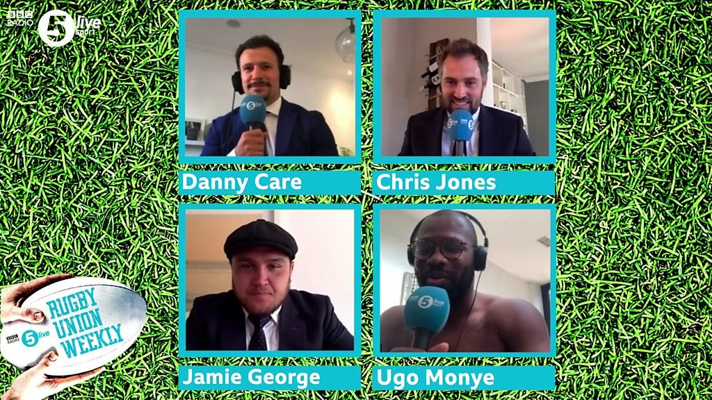 test Twitter Media - Can @J_George2 defend his quizzing crown? 👑   He joins @chjones9, @ugomonye and @dannycare for the #RugbyUnionWeekly hookers quiz. 🤔❓  🖥Watch here👉 https://t.co/L4NaZqMT0c  🏉#bbcrugby https://t.co/OIAFWdAe2S