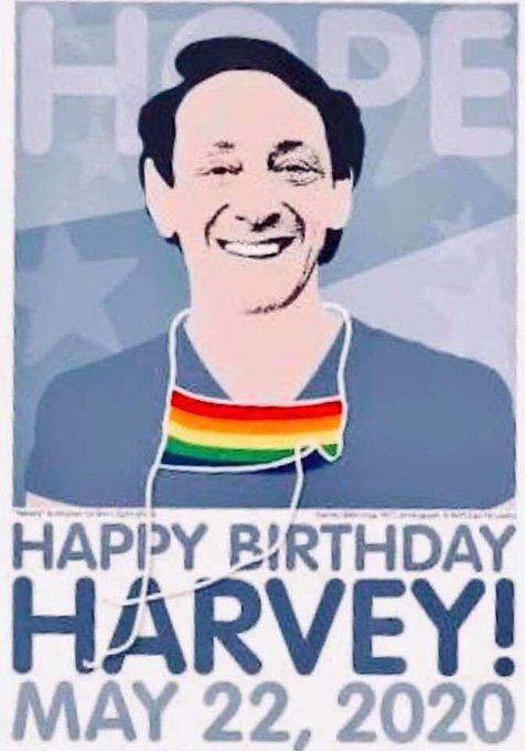 Happy birthday Harvey Milk - absolute legend