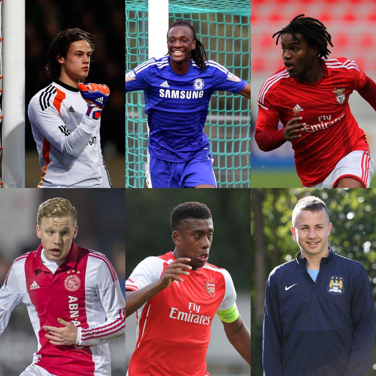 6⃣ future talents from the 2014/15 #UYL season🤩  How many can you name?🤔 https://t.co/3wE4zgWE0A