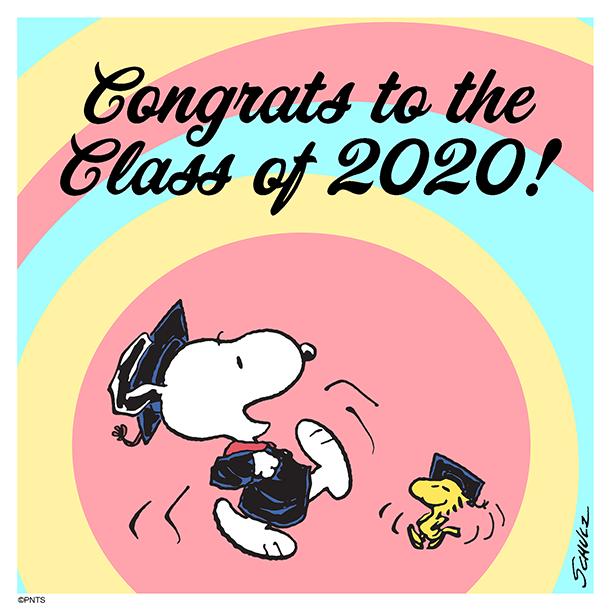 Congrats class of 2020! 🎓