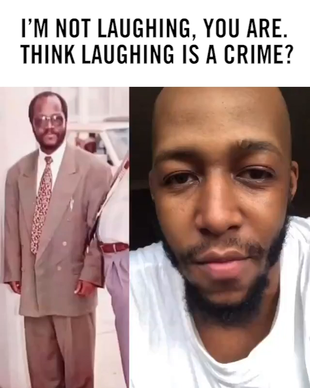 A famous Tanzanian comedian Idris Sultan was jailed after posting this video in which he was 😂🤣 at a picture of the President of Tanzania. Think laughing is a crime?