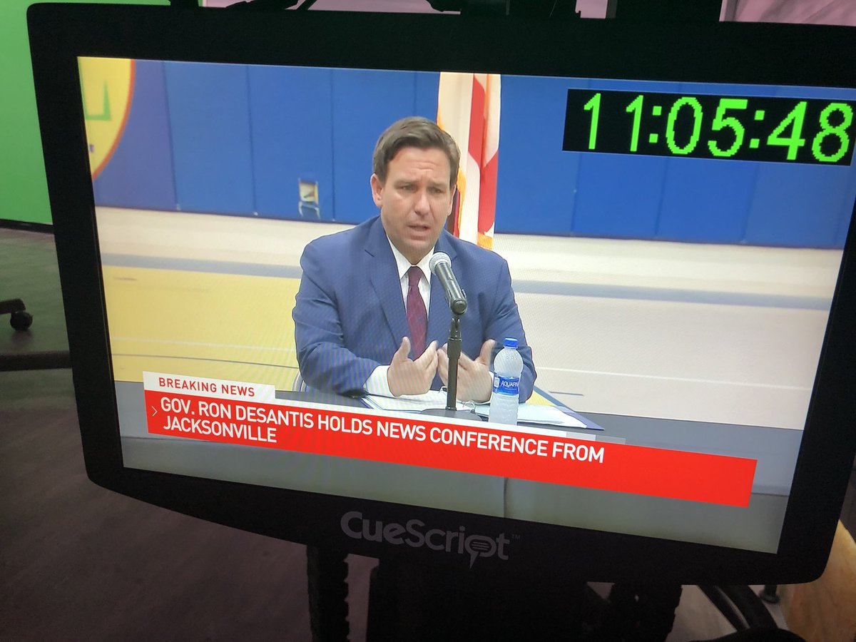 Governor DeSantis lifting all bans on youth activities and sports across the state. He says the state will not institute any restrictions. @CBS12