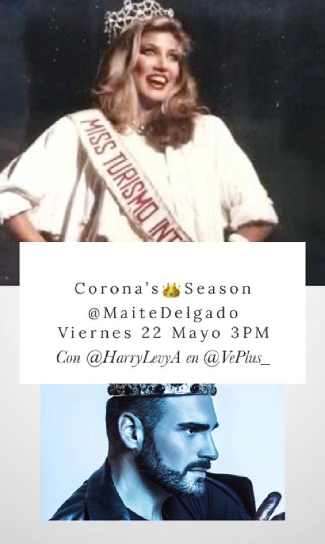 ¡No te lo puedes perder! Hoy a las 3:00 PM por el #Instagram de @VePlus_    👑@delgadomaite  @HarryLevyA  https://t.co/1G7Ez2NuT6 https://t.co/Uan8doHJy7