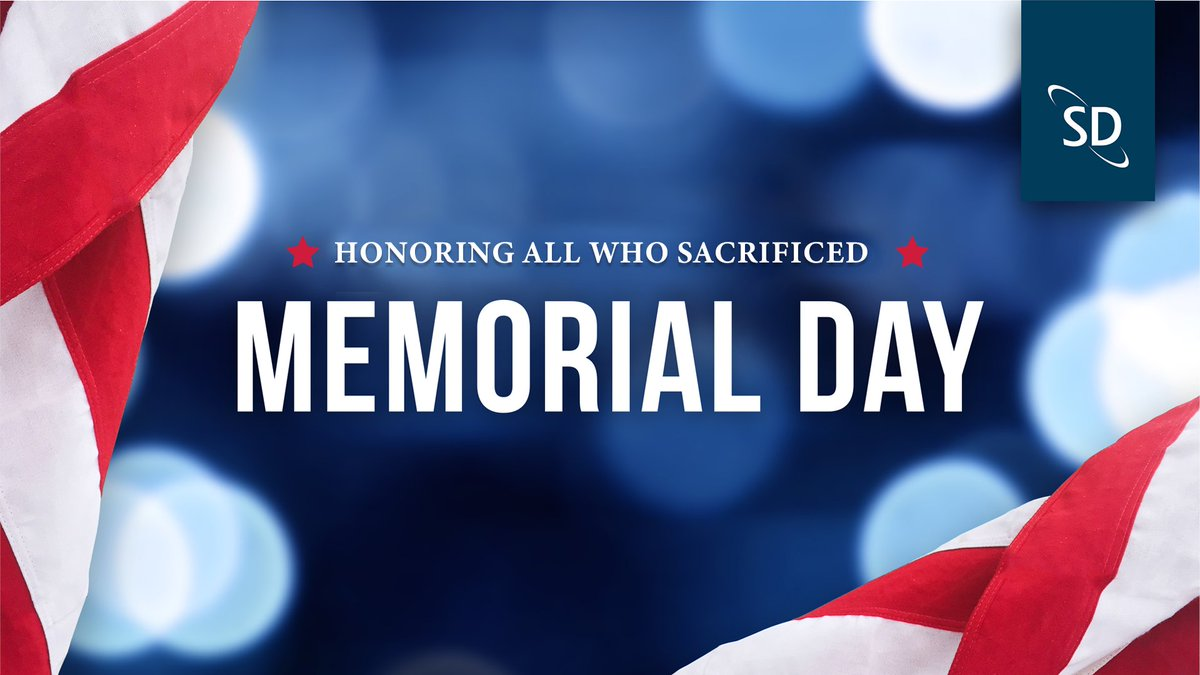 This Memorial Day, we honor all the brave men and women that paid the ultimate sacrifice in the name of hope and freedom. We will never forget! https://t.co/sLLdkBQ9ct