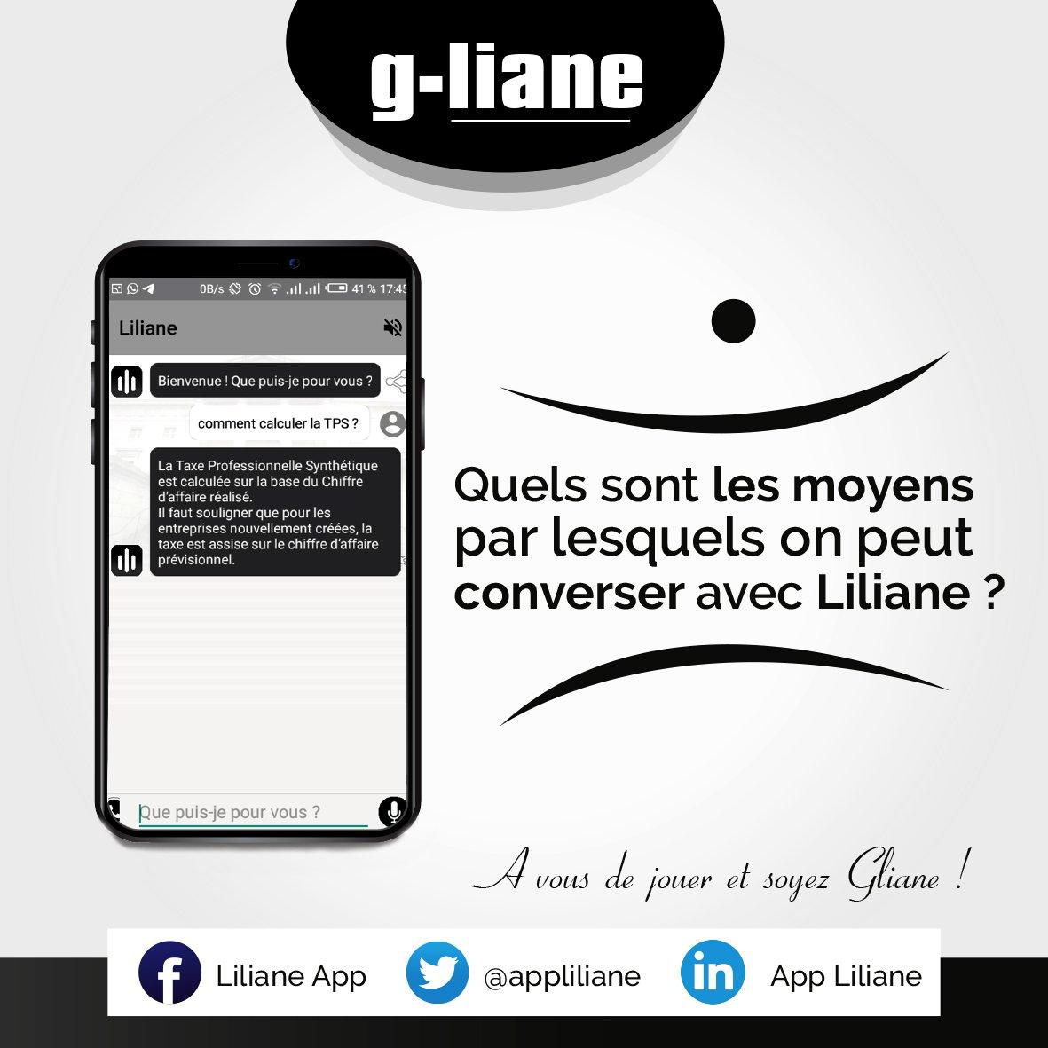 Si tu aimes #Liliane, tu es #gliane! Si tu gagnes, on va te gâter ! https://t.co/6FVfdm4814