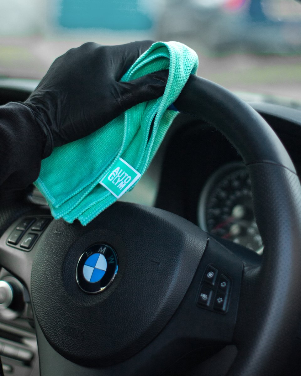Did you know you can use our Leather Cleaner for your steering wheel and other leather surfaces? Simply spray our Leather Cleaner directly onto our Hi-Tech Interior Microfibre cloth and wipe 💪 https://t.co/m91FZKPnXK  #autoglym #carcare #BMW #M3 #BMWM3 #E92 #M3E92 #detailing https://t.co/0R2xvfRkZT