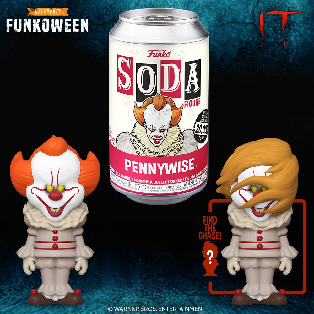Funkoween in May Presents: Funko Vinyl Soda - It @ITMovieOfficial @warnerbros #it #pennywise #wb #funkoween #funko #soda #funkosoda
