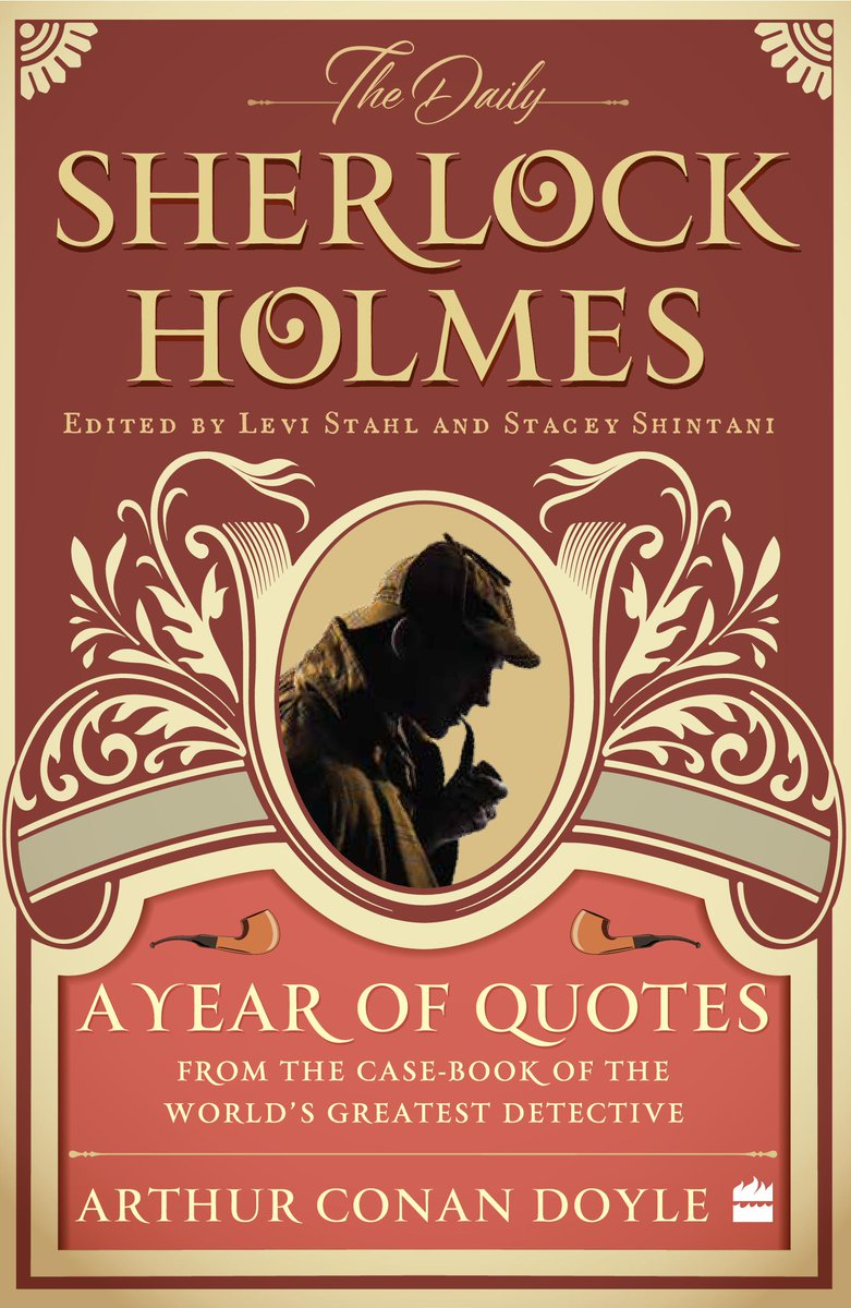The game is afoot! Today is #SherlockHolmesDay and we're happy to share @HarperCollinsIN's reprint of THE DAILY SHERLOCK HOLMES, edited by our very own @levistahl and @rocketlass! https://bit.ly/36gOTdP #UCPIntlRightspic.twitter.com/taKtSFrWcX