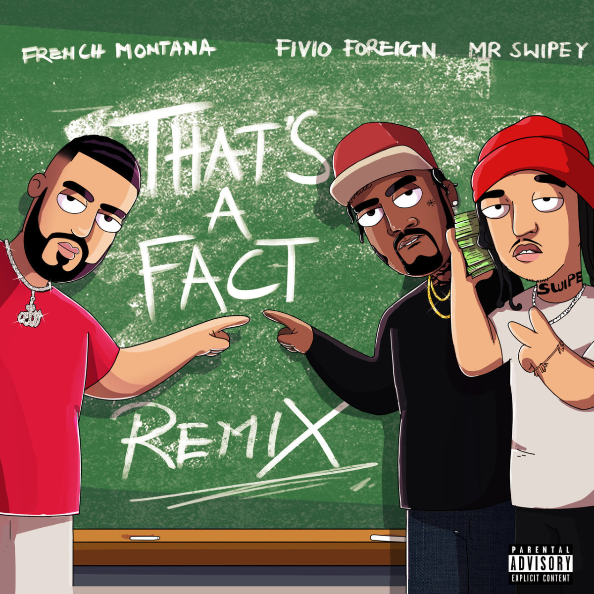 """French Montana drops """"That's a Fact"""" remix f/ Fivio Foreign and Mr. Swipey. https://t.co/zfYw9JVXSv https://t.co/d0xbjc3ph9"""