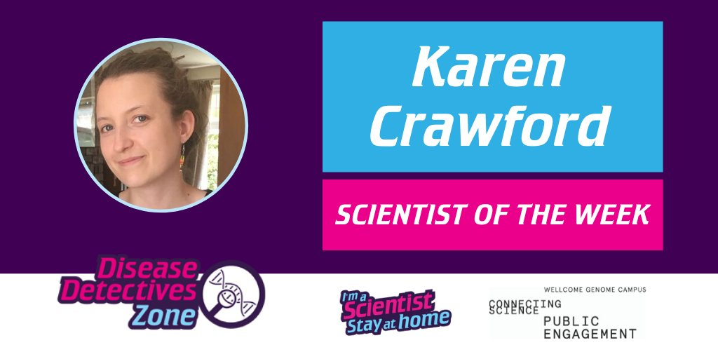 Students in #IASStayAtHome get to vote for their favourite people to win Scientist of the Week...  Well done to Karen Crawford of @UKDRI @cardiffuni, winner this week for the Disease Detectives Zone, funded by @WGCEngage! 👏👏👏  https://t.co/V71fJtbBEg https://t.co/TLYrAH5mNJ