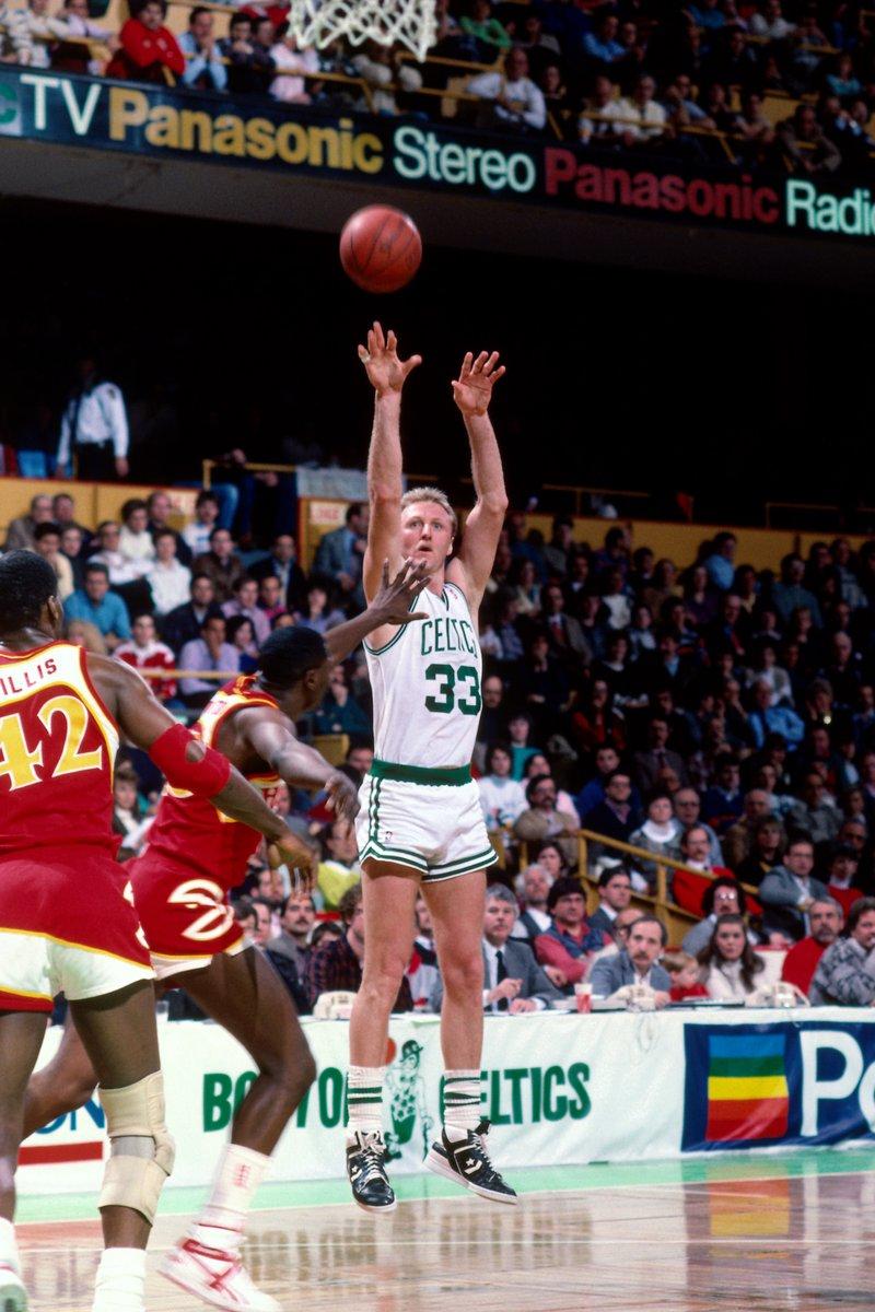 Tonight's @NBATV Popcast at 6pm/et ⏪ 1988 East Semis Game 7: Dominique Wilkins (47 PTS) and Larry Bird (34 PTS) Duel https://t.co/SC46dQVHww