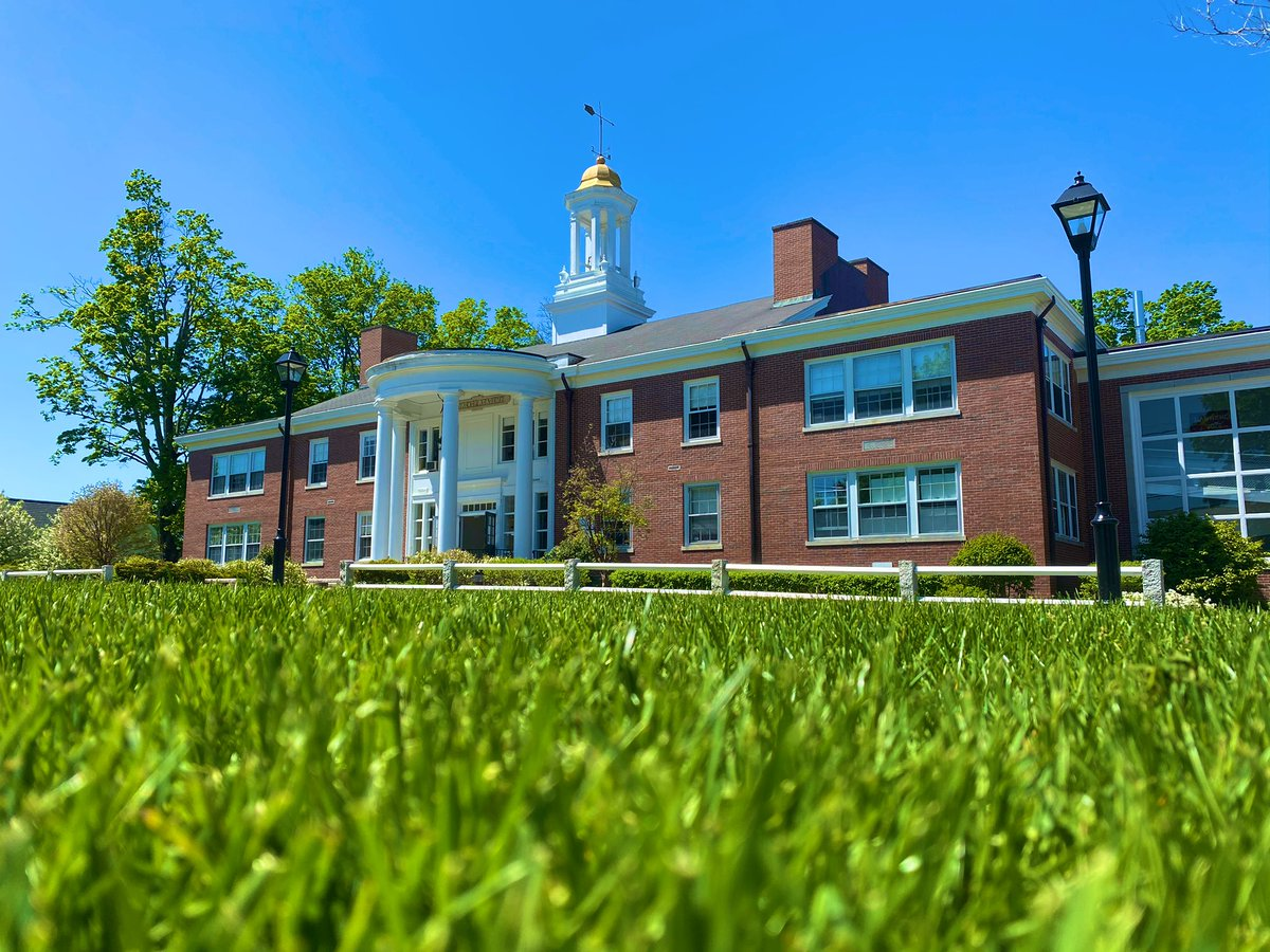 A gorgeous day on the Quad.