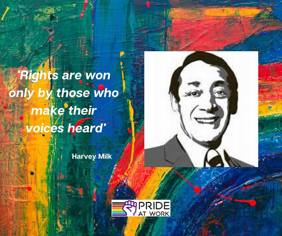 Happy Birthday, Harvey Milk (would\ve been 90 yo)