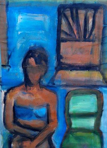 IN A BLUE ROOM 2020 #contemporarypainting #contemporaryart #kunst #artecontemporanea pic.twitter.com/mjst0G0KYt