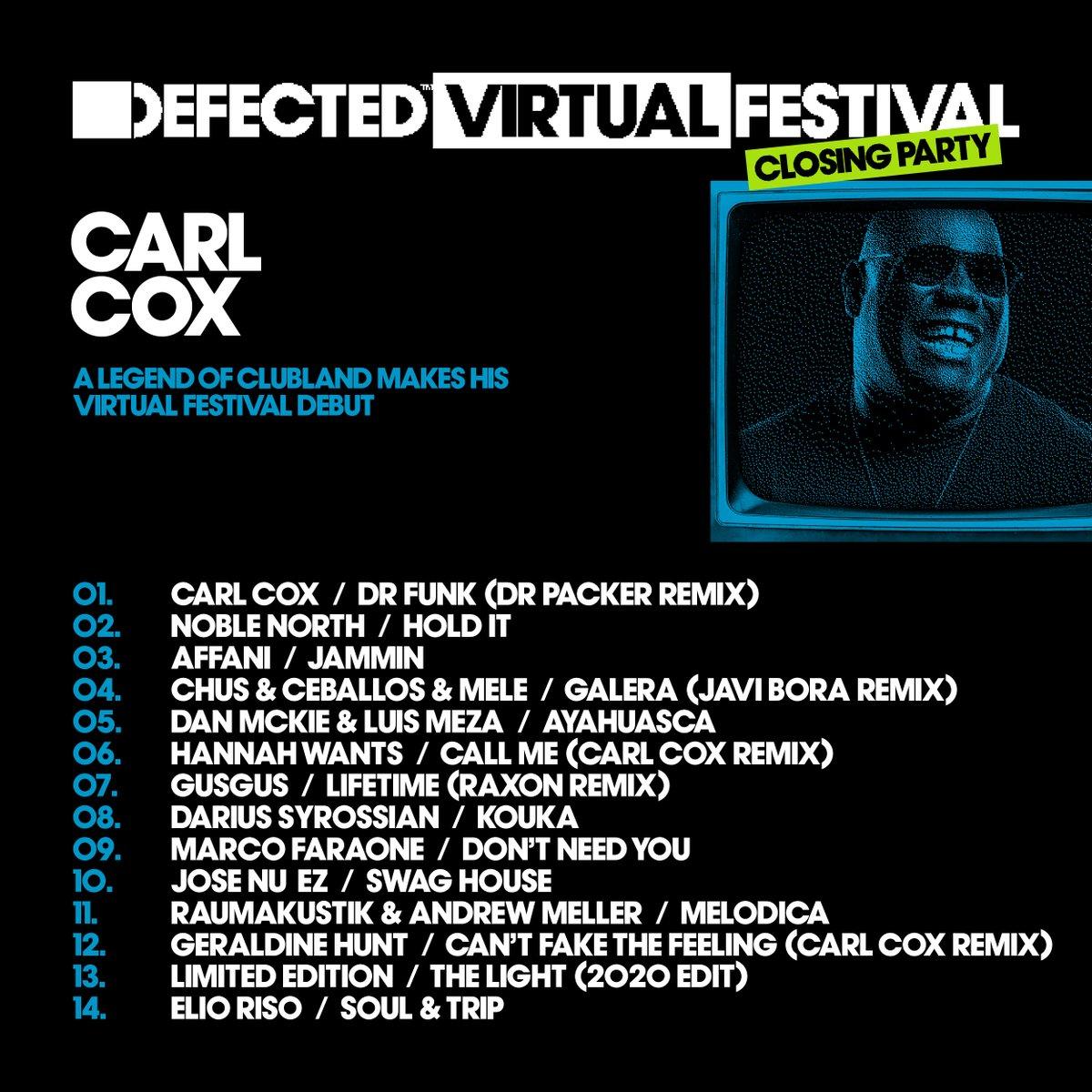 @DefectedRecords's photo on Carl Cox