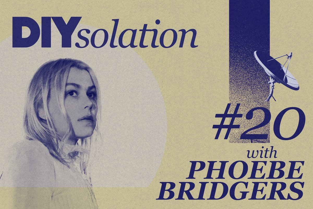 ICYMI Phoebe Bridgers (@phoebe_bridgers) is taking over our Instagram for an extra special DIYsolation session on 4th June! diymag.com/2020/05/19/diy…