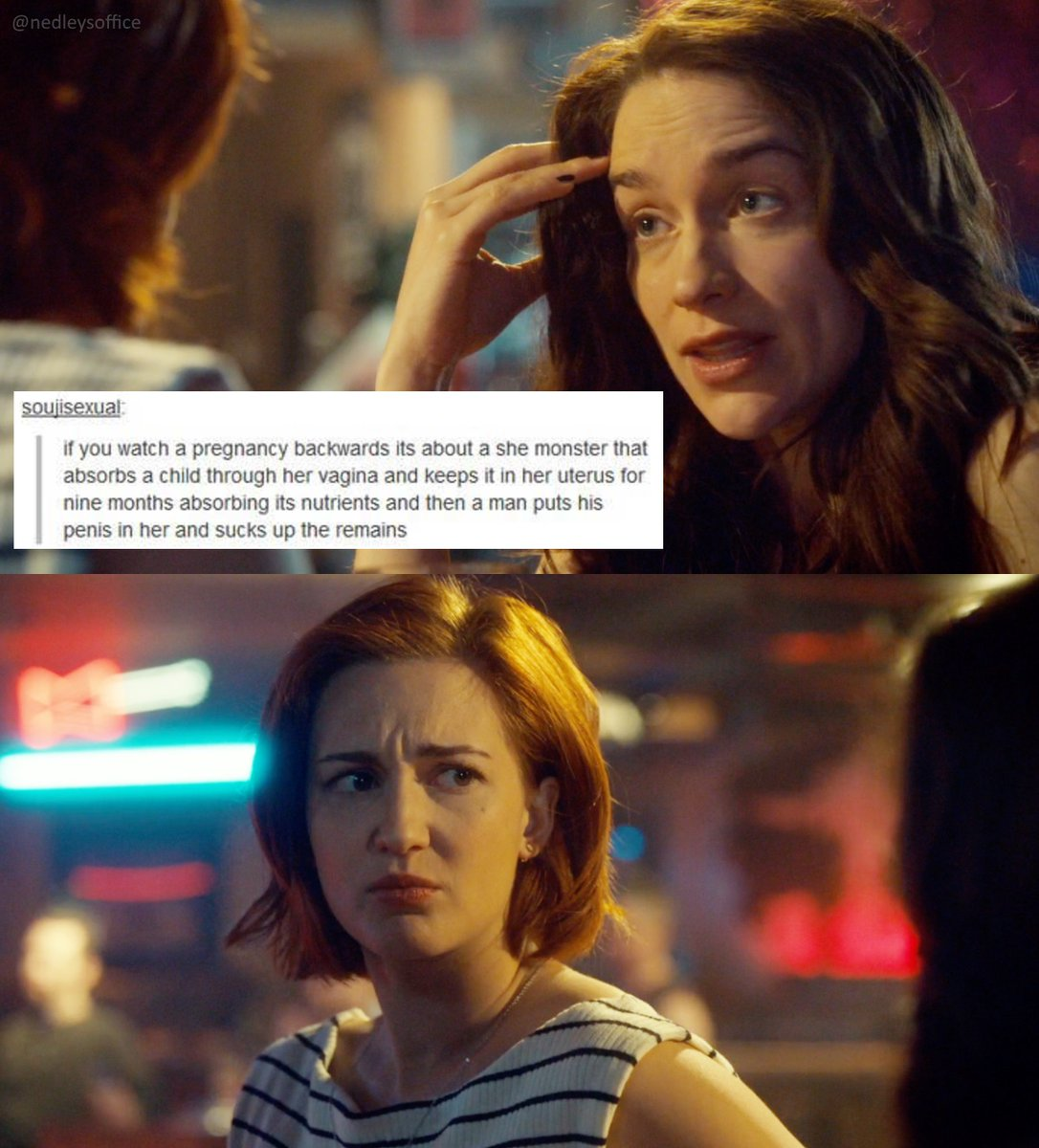 I honestly don't know why I think this is so funny but I do.  From the archives:  #textpost + #WynonnaEarppic.twitter.com/6ei2jMs4x2