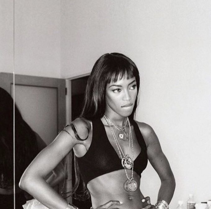 Happy birthday to one of my favorite geminis Naomi Campbell