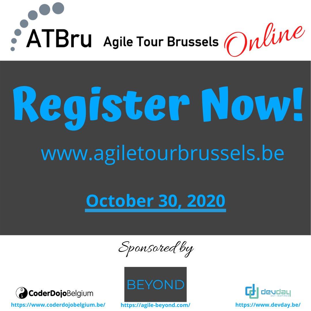 Register Now! Early Bird price until 1st July! https://t.co/Lq81IE90jD #agile #conference #scrum #kanban #devops #leadership #governance #belgium #brussels #online https://t.co/apMwk87fQL