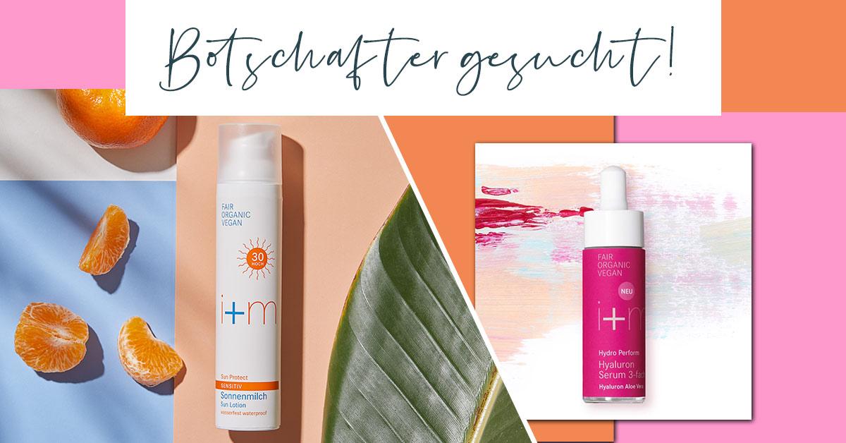[Anzeige] brands you love und #iplusmberlin suchen 500 Botschafter für Sensitiv Sonnenmilch & Hydro Perform Hyaluron Serum. Ihr wollt die Produkte kostenlos kennenlernen?🌿Jetzt bewerben👉https://t.co/rg67inGWD2 💋#changetheworldwithbeauty #fairorganicvegan #cleanbeauty https://t.co/H5hsEWb2Jd