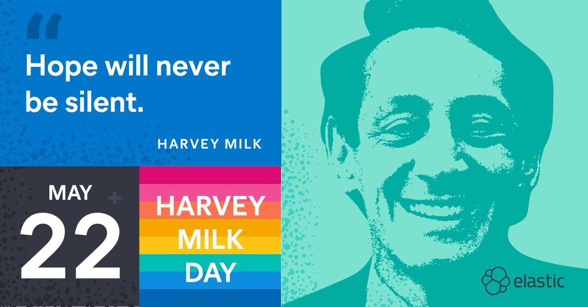 @elastic's photo on #HarveyMilkDay