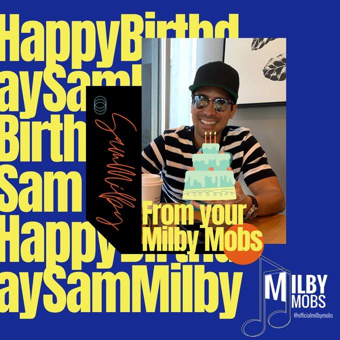 Happy Birthday Sam Milby! We love you!