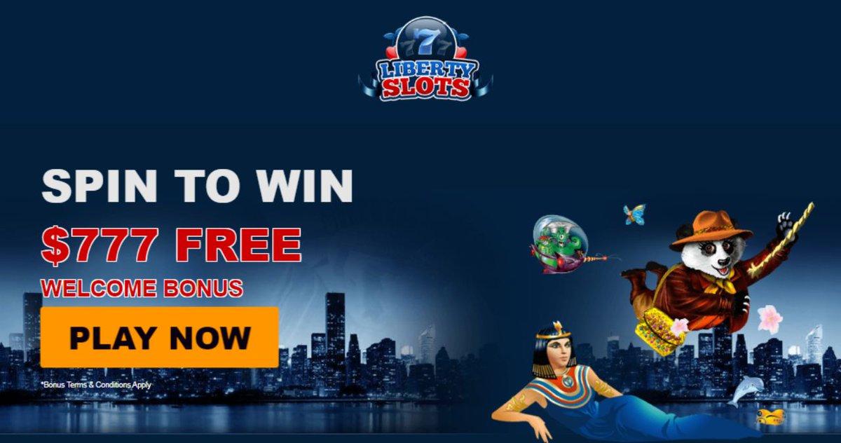 Liberty Slots casino latest bonus offers 2020. Match and free spins bonuses https://t.co/NBTTL2Yeom #casino #match #slots #freespins #bonus #CouponCode #casinobonus #casinoUSA #CasinoAustralia https://t.co/putcITwslQ