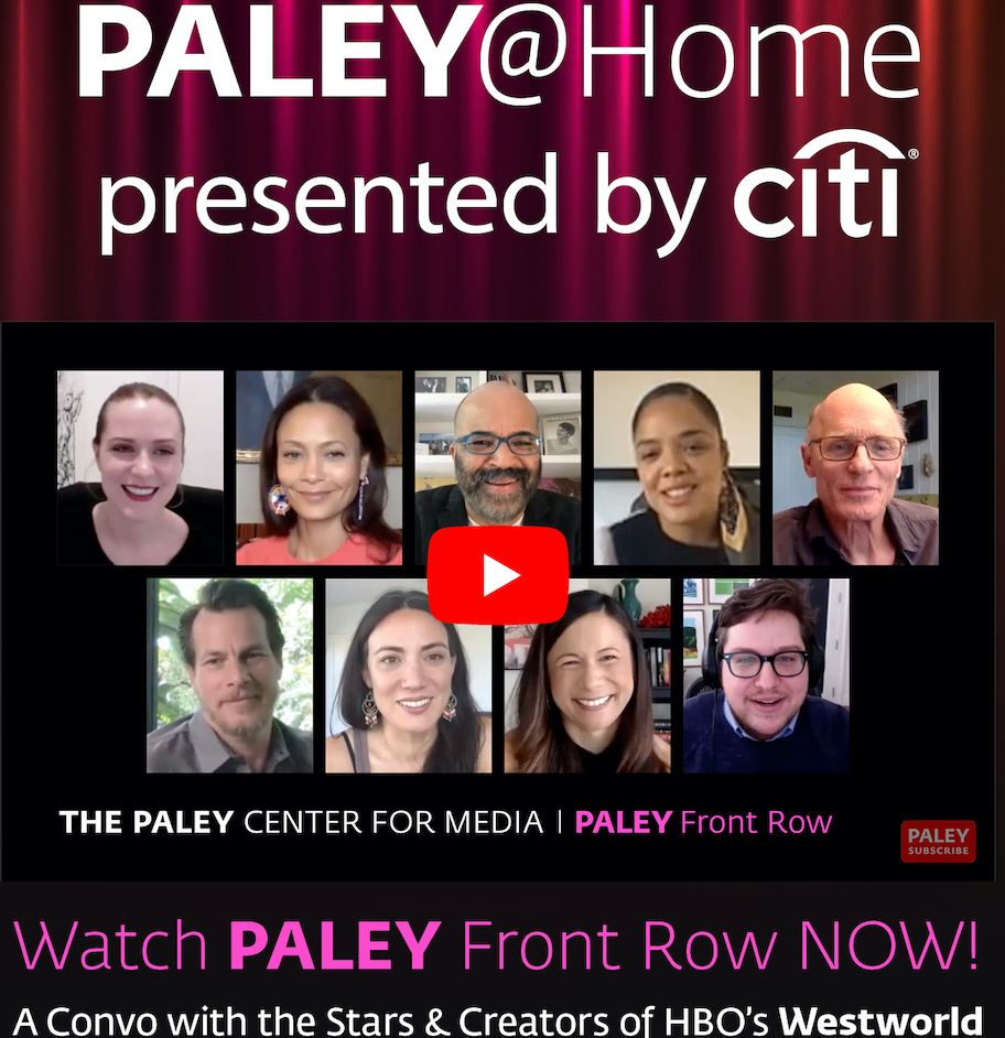 It's finally here! Celebrate the start of #MDW with Paley Front Row and the team behind @WestworldHBO, presented by @Citibank.    https://t.co/vPwCryhBVJ https://t.co/qp3Ql2loN9
