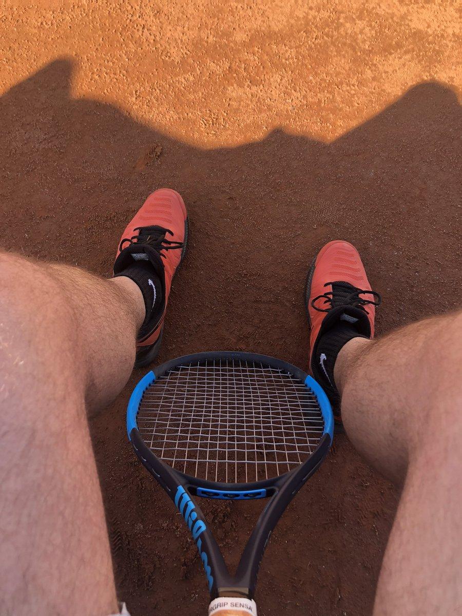 Back on court  #Tennis #WilsonTennispic.twitter.com/TObIXo9Phc